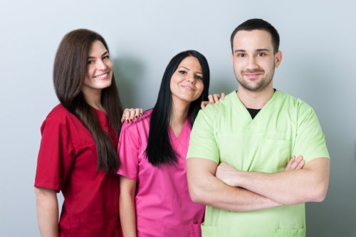 A group of caregivers